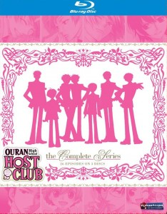 Ouran High School Host Club Blu-ray Cover