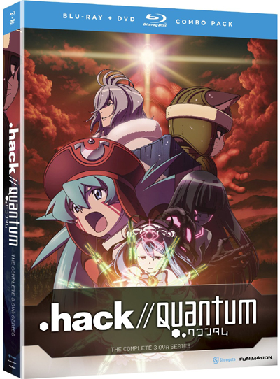 .hack//Quantum Blu-ray Cover
