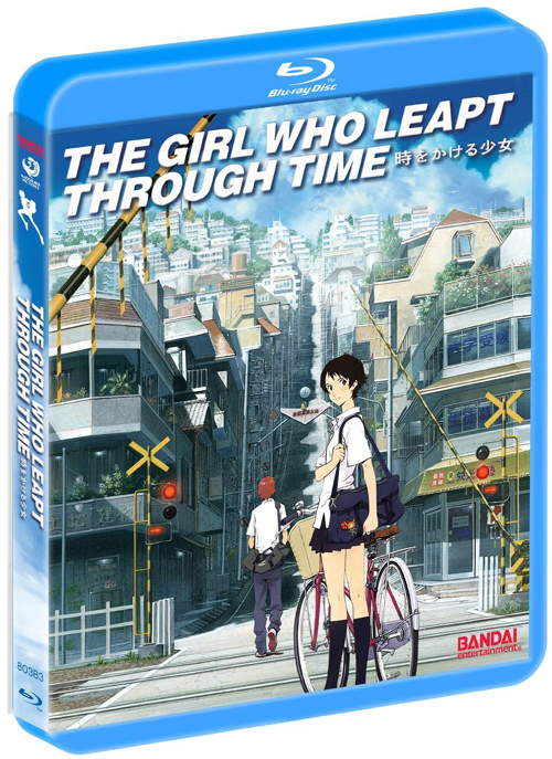 The Girl Who Leapt Through Time Blu-ray Cover