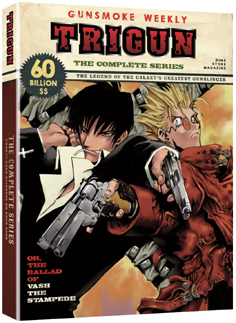 Trigun DVD Cover