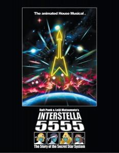 Interstella 5555 DVD Case