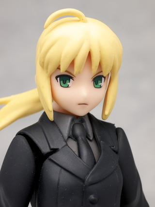 Saber has bad hair