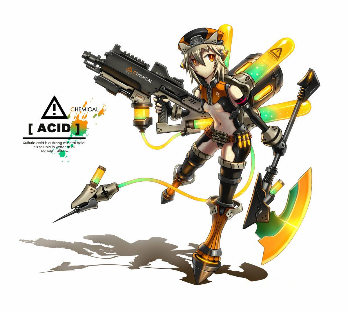 Anime Robot: Gia: Moefication Of Chemicals