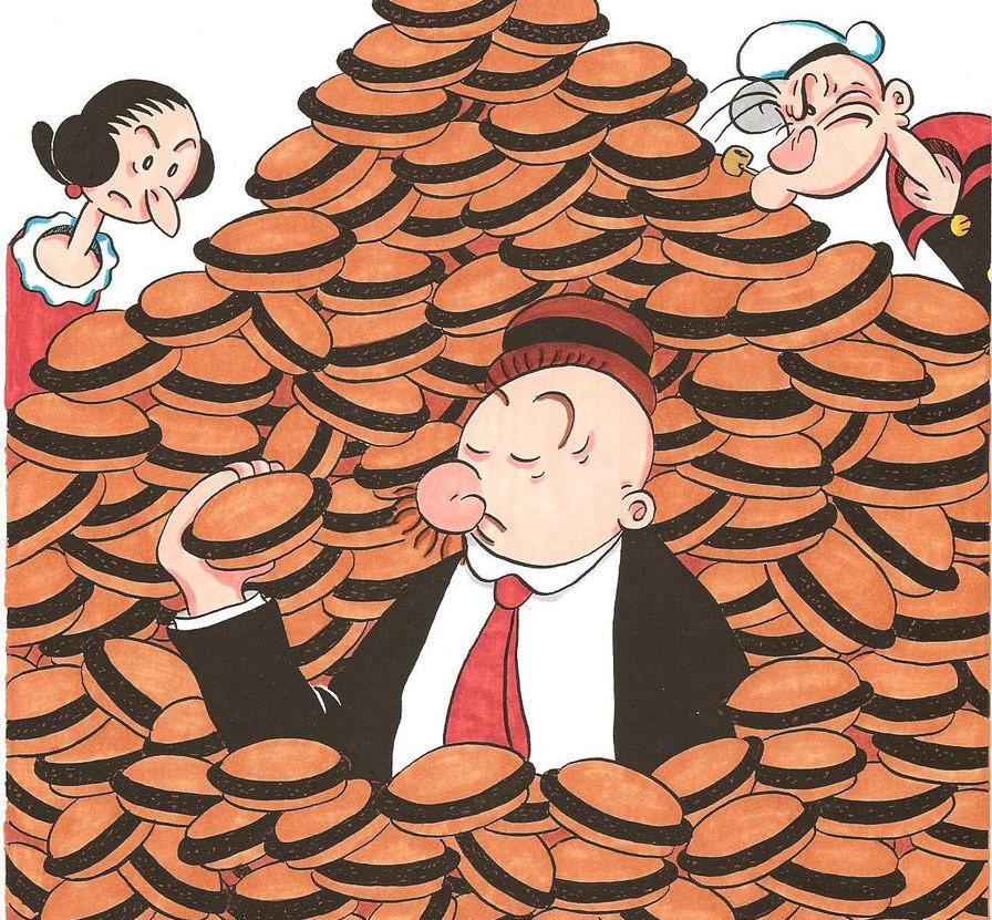 Wimpy in hamburger heaven