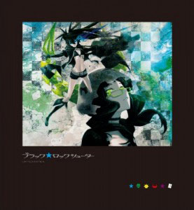 Black Rock Shooter Blu-ray Box Cover