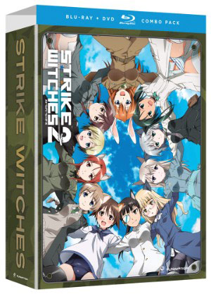 Strike Witches Season 2 DVD & Blu-ray Bundle