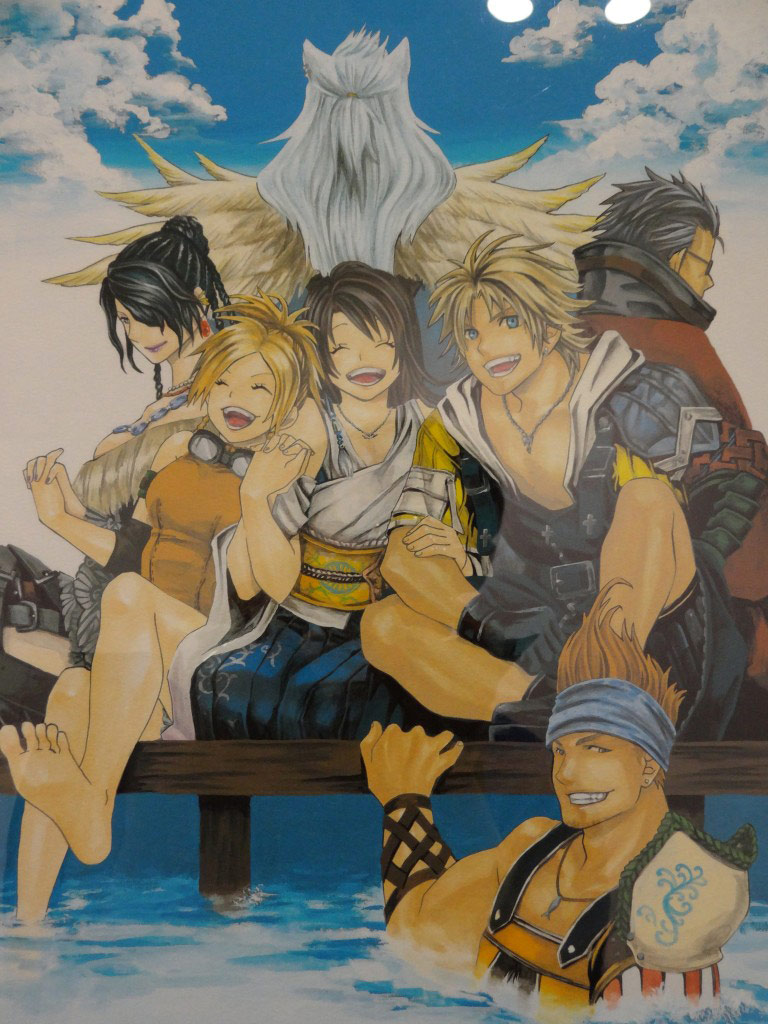 Final Fantasy Guest Art 3
