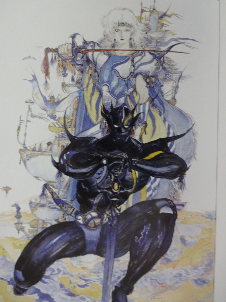 Yoshitaka Amano Drawing 2