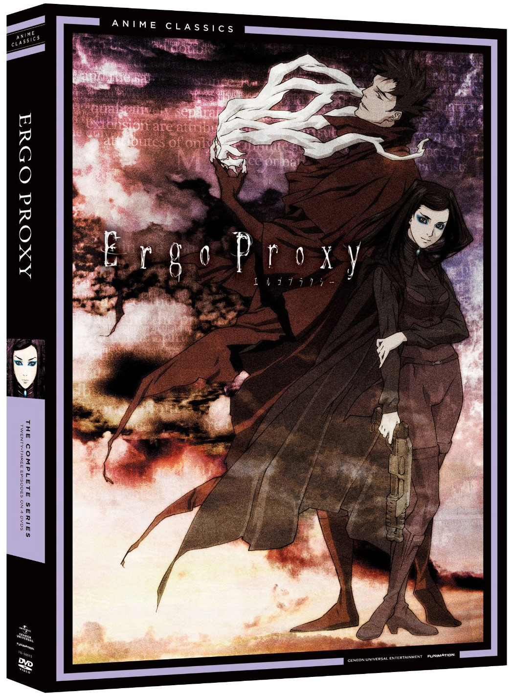 Ergo Proxy DVD Complete Series (Amazon)
