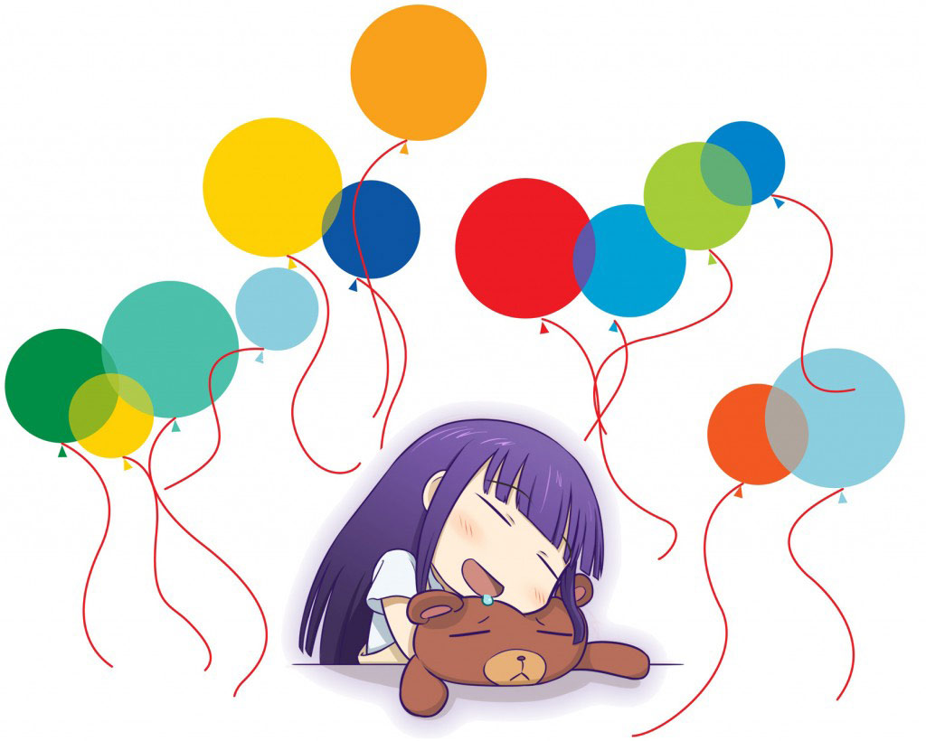 Tired with Baloons