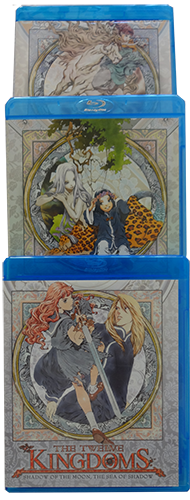 The Twelv Kingdoms Blu-ray Boxes