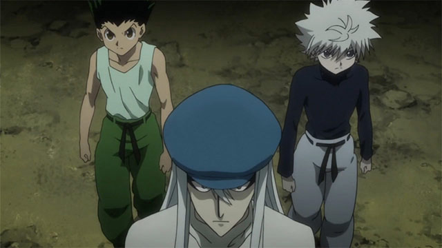 hunter x hunter ant arc