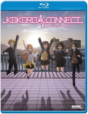 Kokoro Connect OVA Blu-ray Cover