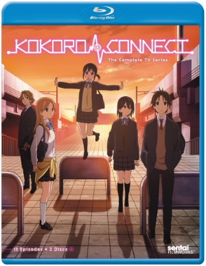 Kokoro Connect TV Blu-ray Cover
