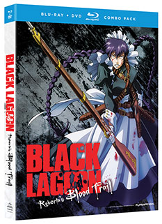 Black Lagoon Roberta's Blood Trail DVD/BD cover