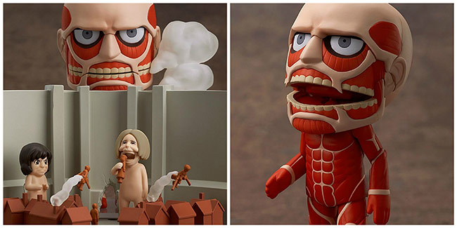 Nendoroid-Colossus-Titan-&-Attack-Playset
